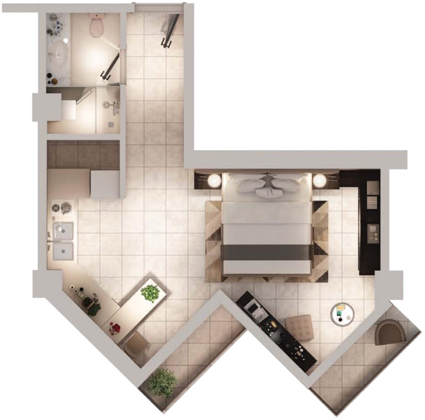 SAAM Vega Hotel Apartments in Dubai